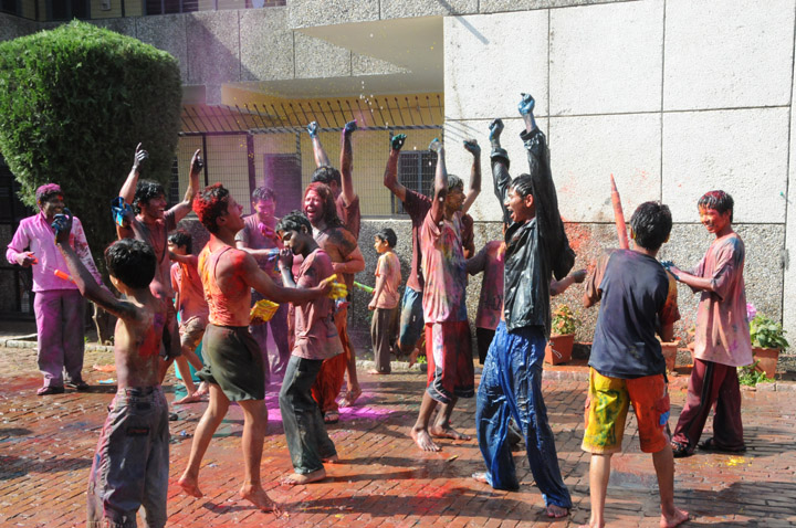 Group Holi 2