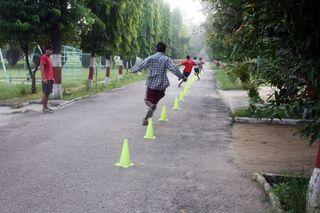 Running Cones