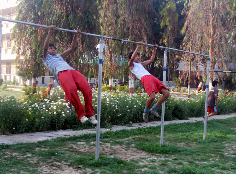 Two CFK Pull Ups