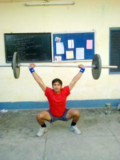 Gautam overhead squat