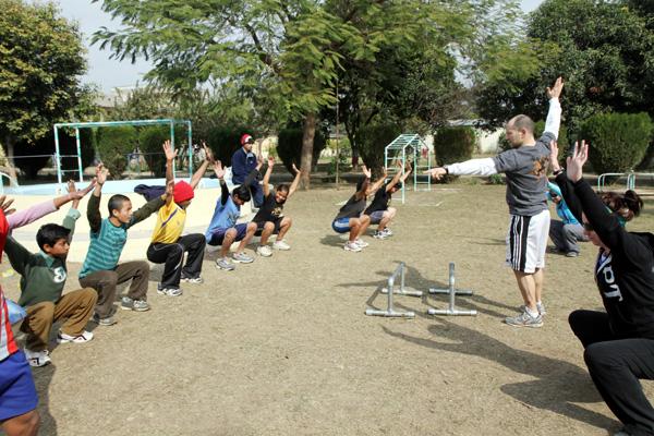 Kids squats