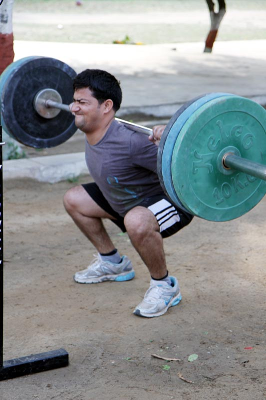Bachendra Back Squat